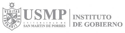 Instituto de gobierno de la USMP