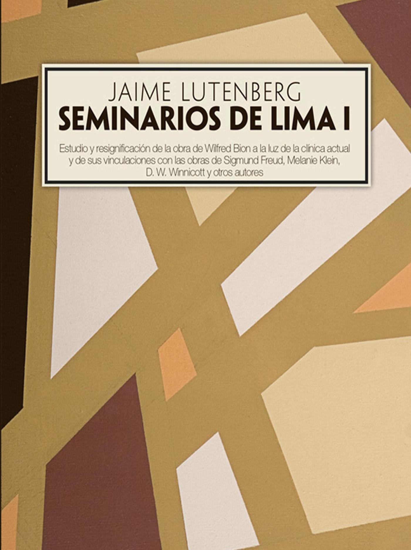 Portada del libro Seminarios de Lima I /></a>                 <p class=